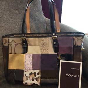 Coach Quilted Tote